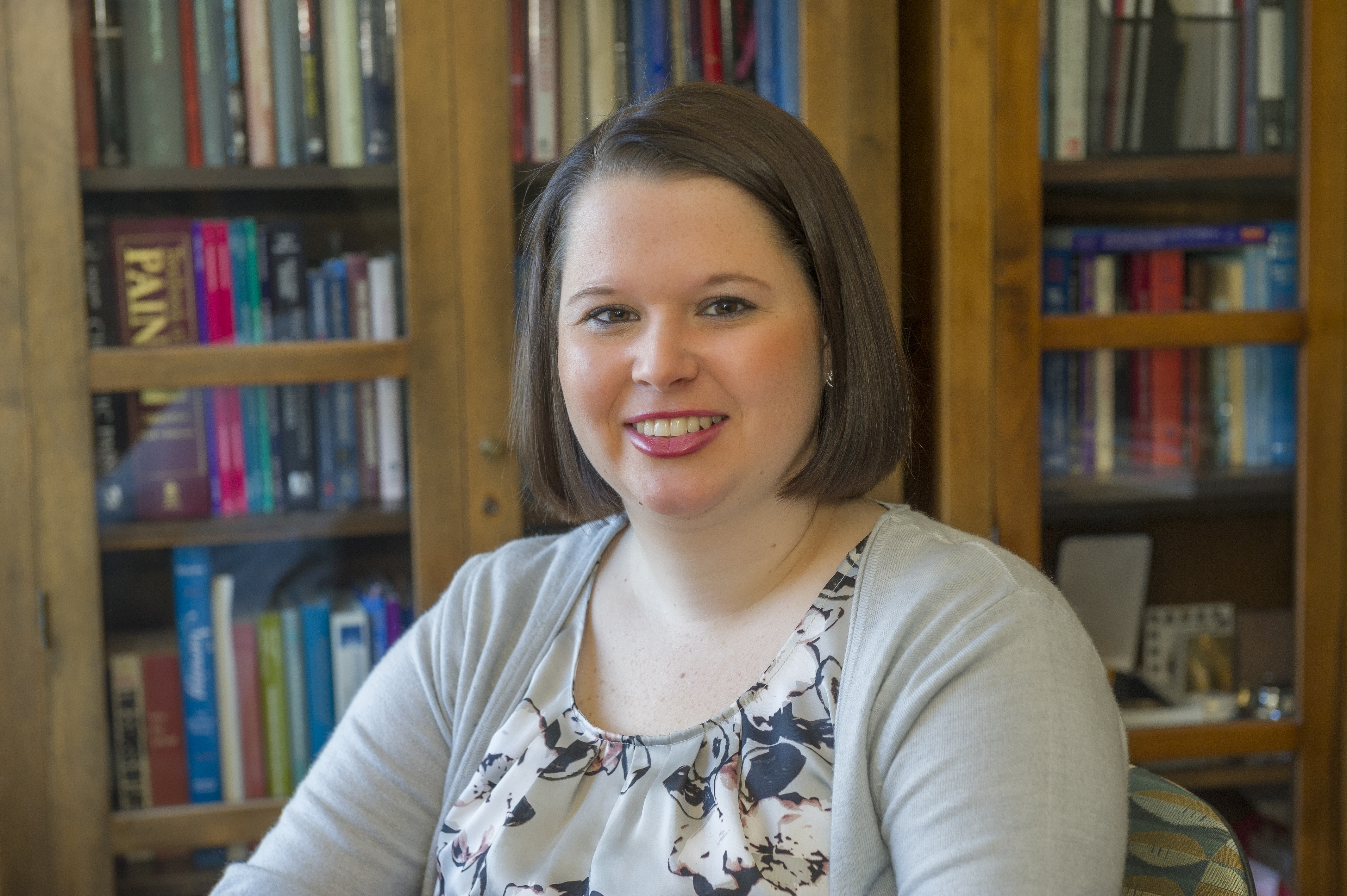 Christina Wilson works to improve body image in women with gynecologic cancer