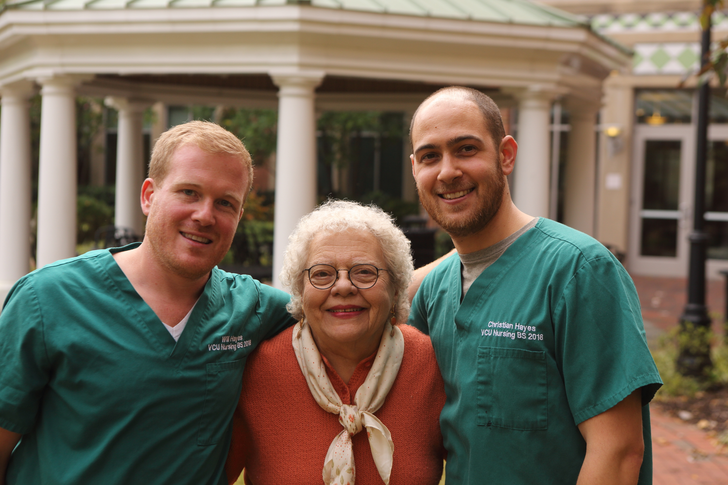Careers in education and foreign service lead two brothers to nursing degrees